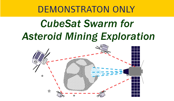 CubeSat Swarm for Asteroid Mining