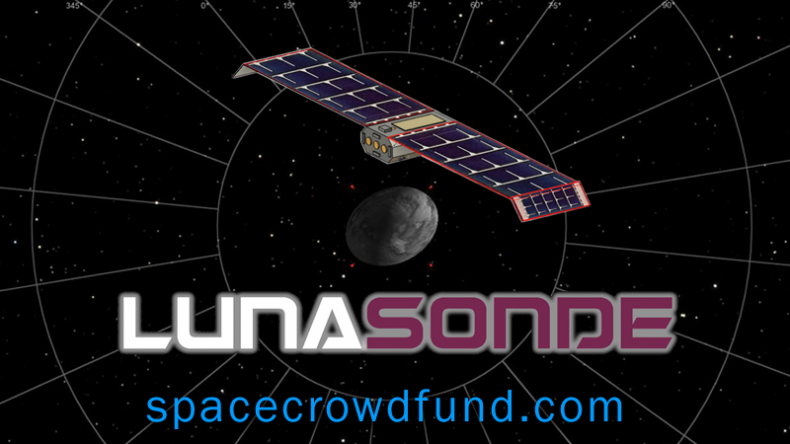 LunaSonde Space Crowdfunding Space Resources and Asteroid Detection Mission